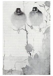 Jan Mankes(1889-1920) -Putters in avondschemering, 1911- Postkaart