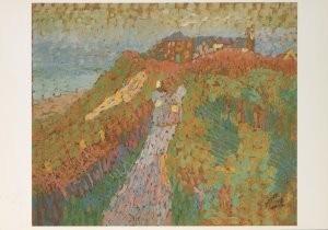 Jan Th.Toorop (1858-1928) -Zeedijk te Domb.- Postkaart