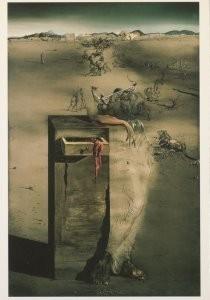 Salvador Dali (1904-1989) -Spanje, Espagne, 1938- Postkaart