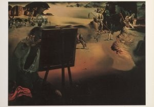 Salvador Dali (1904-1989) -Impressies van Afrika, Impressions d'Afrique, 1938- Postkaart