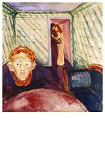 Edvard Munch (1863-1944) -Jealousy, 1907- Postkaart