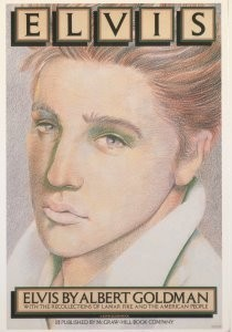 Milton Glaser (1929) -Glaser, M./ Elvis- Postkaart