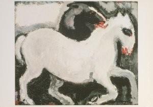 Kees van Dongen (1877-1968) -Paarden, Chevaux, 1904- Postkaart