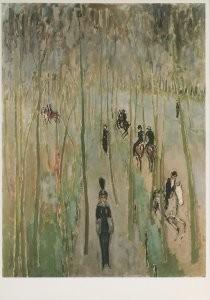 Kees van Dongen (1877-1968) -Het pad der deugd, Le sentier de la vertu, 1913- Postkaart