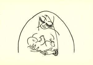 Kees van Dongen (1877-1968) -Illustration pour Les Contes de 1001 Nuit, 1918- Postkaart