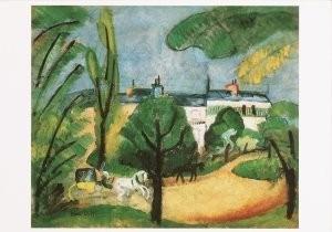 Raoul Dufy (1877-1953) -La caleche- Postkaart