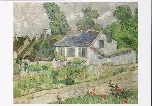 Vincent van Gogh (1853-1890) -Houses at Auvers- Postkaart
