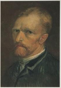 Vincent van Gogh (1853-1890) -Zelfportret, 1886- Postkaart