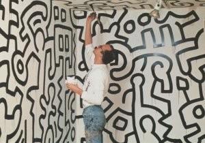 Keith Haring (1858-1990) -Pop Shop Tokyo- Postkaart