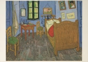 Vincent van Gogh (1853-1890) -Vincent's bedroom, 1889- Postkaart