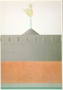 Alessandro Mendini (1931) -Mendini/Arch. en Gesch./GM- Postkaart
