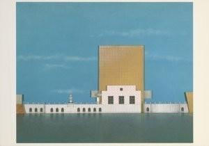Alessandro Mendini (1931) -Mendini/Centr.paviljoen/GM- Postkaart