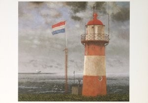 Hermanus Berserik (1921-2002) -NW Winkracht 6- Postkaart