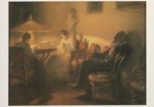 Leonid Pasternak (1862-1945) -L.Pasternak/Leo Tolstoi/SRM- Postkaart
