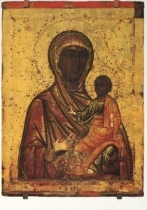 Anoniem, -The Blessed Virgin Odegetry of Toronets, XVII cent- Postkaart