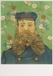 Vincent van Gogh (1853-1890) -Postbode Roulin, 1889- Postkaart