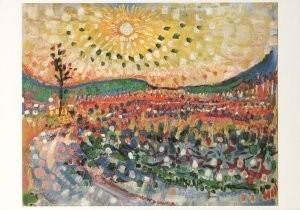 Jan Sluijters (1881-1957) -Oktoberzon- Postkaart