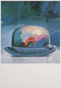 Paul Giovanopoulos (1939) -Derby Hat B- Postkaart