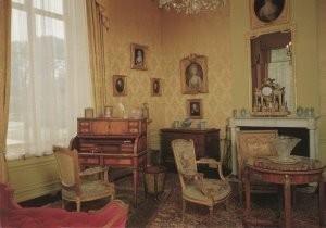 Doorn -Gele Salon- Postkaart