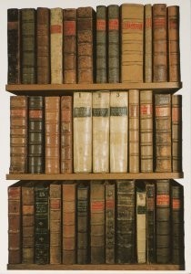 Anoniem -Books from Arts End, Old Bodleian Library- Postkaart