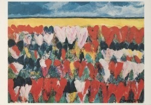 Jan Cremer (1940) -Hollands Glorie, 1991- Postkaart
