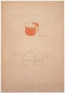 Gerrit Th. Rietveld (1888-1964-G.Rietveld/Tafel met glasb/CMU- Postkaart