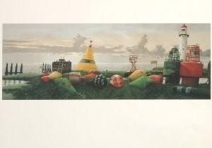 Hermanus Berserik (1921-2002) -Haringvliet- Postkaart