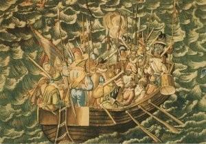 Karel van Mander (1548-1606) -H.de Maeght/Wandtapijt/ZMM- Postkaart
