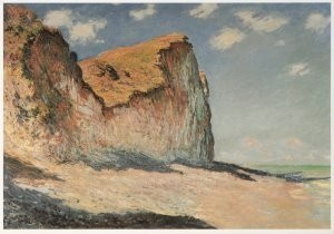 Claude Monet (1840-1926) -Berg bij Pourville / Rocks near Pourville, 1882- Postkaart