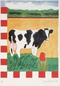 Jan Cremer (1940) -Four Seasons Sprin- Postkaart