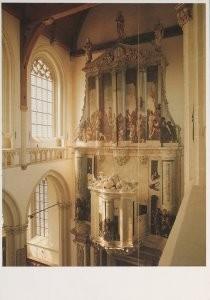 Erik Hesmerg (1951) -Int. Nieuwe Kerk A'dam- Postkaart