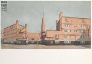 Michel de Klerk (1884-1923) -Eigen Haard- Postkaart