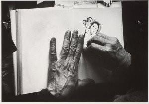 Marc Chagall (1887-1985) -Izis/M.Chagall,Vence/BR- Postkaart