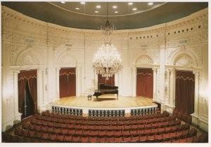 Hans Samsom (1939) -Kleine Zaal Concertgebouw Amsterdam- Postkaart