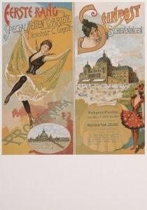 Anoniem, -Variete-voorstelling- Postkaart