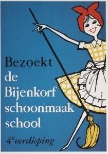 Anoniem, -Bijenkorf Schoon- Postkaart