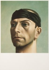 Pyke Koch (1901-1991) -Pyke Koch/Zelfportret/CMU- Postkaart