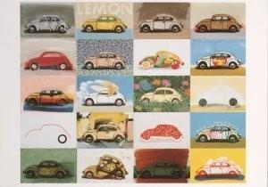 Paul Giovanopoulos (1939) -Volkswagen VII- Postkaart