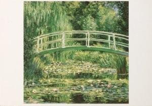 Claude Monet (1840-1926) -C.Monet/Le nympheas blancs/PMM- Postkaart