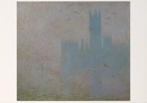 Claude Monet (1840-1926) -C. Monet/Les Mouettes Parl/PMM- Postkaart