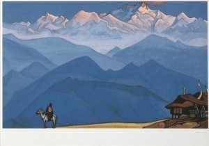 Nikolai Roerich (1847-1947) -N.Roerich/Remember/SRM- Postkaart