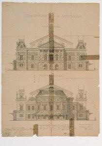 A.L.van Gendt (1835-1900) -A.L.v Gendt/conc.Nov.1883/GAA- Postkaart