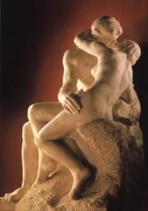 Auguste Rodin (1840-1917) -A.Rodin/Le Baiser- Postkaart