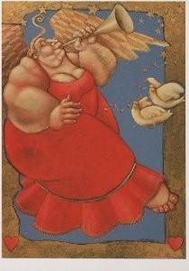 Ada Breedveld (1944) -Ik dacht een beetje- Postkaart