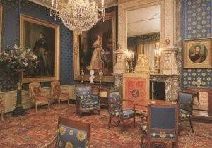 Anoniem -Salon van Koning Willem I/LOO- Postkaart