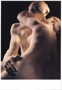 Auguste Rodin (1840-1917) -A.Rodin/Le Baiser/MR- Postkaart