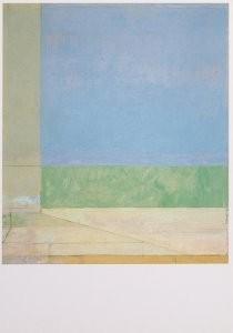 Richard Diebenkorn (1922-1993)-Ocean Park No. 66, 1973- Postkaart