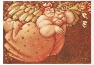 Ada Breedveld (1944) -Angela- Postkaart