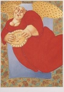 Ada Breedveld (1944) -Be in existence- Postkaart