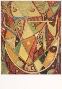 Egill Jacobsen (1910-1998) -E.Jacobsen/Maske /CMA- Postkaart